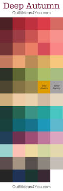 fall color pallette 63 best color analysis deep autumn shaded images on pinterest