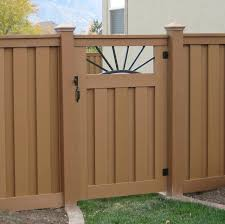 trex seclusions custom single fence gate big 008 fence gates