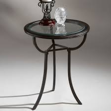 Small Metal Accent Table Table Handsome Round Metal Side Table And Wood Nesting Tables