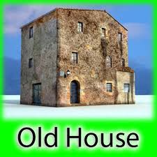 3d old european house detailed realistic cgtrader