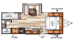 Forest River Travel Trailers Floor Plans 2018 Forest River Salem Cruise Lite 230bhxl Model