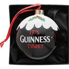 guinness guinness pint bauble ornament from guinness