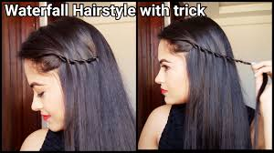 college hairstyles in rebonded hai easy trick to waterfall hairstyle hairstyles for medium to long