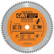 Circular Saw Blade For Laminate Flooring Cmt 253 072 12 Itk Industrial Finish Sliding Compound Miter Saw
