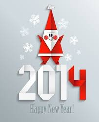 new year 2016 greeting card template free vector download 25 050