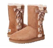 womens ugg lo pro boot chestnut ugg australia s lo pro lace up tasman boots sz 7 chestnut