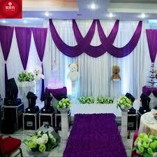 Marriage Decoration Background Drop Wedding Party Stage Celebration Background Satin