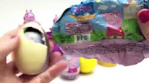 easter eggs surprises peppa pig eggs peppa play doh eggs huevos sorpresa easter