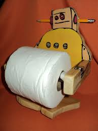 instructables robot toilet paper holder 6 steps with pictures
