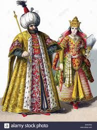 Sultans Of Ottoman Empire These Figures Represent A Sultan And A Sultana In The Ottoman