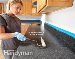 Resurfacing Kitchen Countertops Ideas For The Kitchen Renew Kitchen Countertops Family Handyman