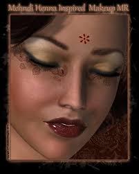 henna makeup mehndi henna inspired makeup mr 2d graphics forbiddenwhispers