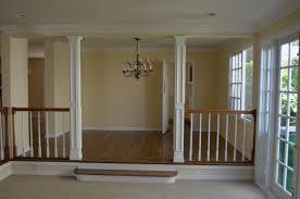 step down living room railing living room decoration handrail for sunken living room