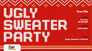 Images Of Ugly Christmas Sweater Parties - 28 ugly christmas sweater party ideas c r a f t