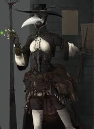 plague doctor costume image plague doctor ref 1 jpg rwby wiki fandom powered by wikia