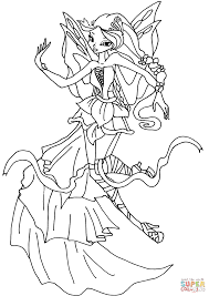 flora coloring pages coloring download winx club bloom harmonix coloring pages winx