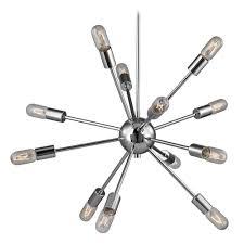 mid century modern pendant lighting mid century modern pendant light polished chrome 12 light 178