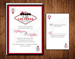 vegas wedding invitations las vegas wedding invitations kawaiitheo