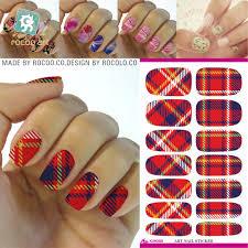 online get cheap plaid nail polish aliexpress com alibaba group