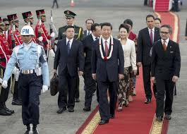 r駭 sa cuisine soi m麥e read china president arrives in jakarta for state visit