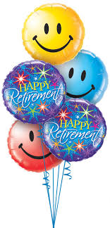 retirement balloon bouquet happy retirement best wishes balloons delivered balloons bouquet