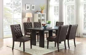 Espresso Dining Room Furniture F2367 Espresso Dining Table By Poundex