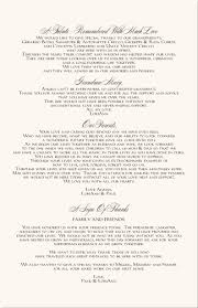 sle wedding program thank you oak leaf fall wedding program