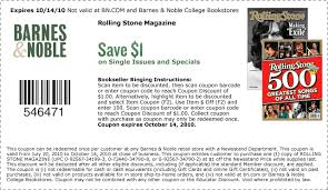Barns And Noble Promo Code Retail Printable Coupon Round Up 10 15
