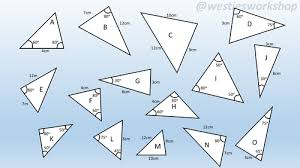 congruent triangles matching activity by supergenau teaching