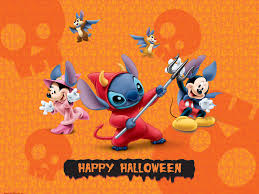 halloween background orange disney halloween wallpaper backgrounds wallpapersafari