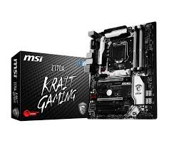 support for z170a krait gaming motherboard the world leader in