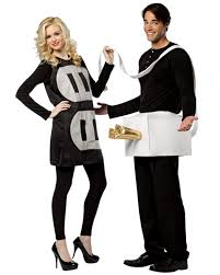 Funny Halloween Costumes Ideas Couples Couples Plug U0026 Socket Costume Adults Halloween Costumes