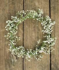 baby s breath flowers the 25 best babys breath wreath ideas on white wreath