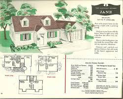 split level home floor plans modern home plans 1955 vintage house plans1950s pinterest mid