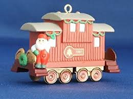 hallmark keepsake ornament claus co r r caboose