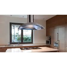 air la90crestaislss 90cm island cooker hood in stainless steel 950m3hr