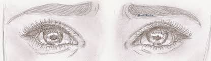 sad eyes by chaoscilliation on deviantart