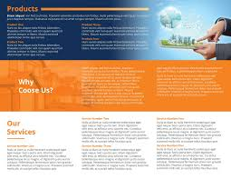 real estate tri fold brochure template design bundles