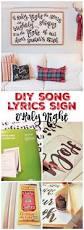 diy song lyrics sign christmas carol sign o holy night the how to make your own diy song lyrics or christmas carol sign at thehappyhousie com