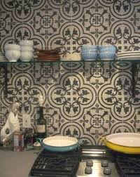 Moroccan Tile Kitchen Backsplash Stylish Backsplash Pairings Kitchens Cement And Black
