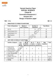 cbse class 9 papers term 2
