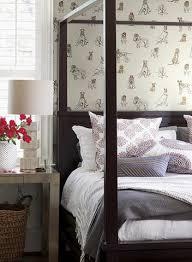 Gray Wallpaper Bedroom - toile wallpaper french inspired styles burke decor