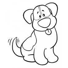 dessin à colorier d u0027un joli mouton qui gambade u2026 pinteres u2026