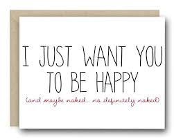 to be card card i just want you to be happy