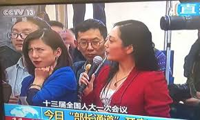 Meme Chinese - reporter rolls her eyes on live tv and a meme is born