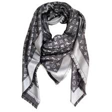louis vuitton black friday sale pale pink naturel monogram silk wool twill shawl scarf silk wool