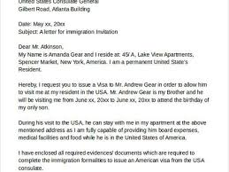 22 invitation letter for immigration purposes immigration
