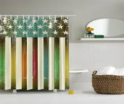 Designer Shower Curtain by Adapted Shower Stall Gorgeous Home Design