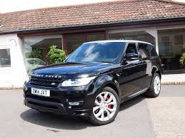 blue range rover used land rover range rover sport autobiography dynamic for sale
