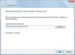 membuat group di yahoo mail create a desktop shortcut to access yahoo mail